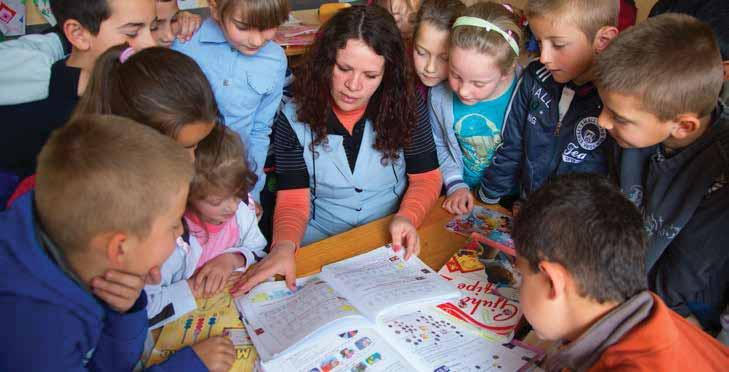 In the academic year 2013 2014, 377,000 students 17 were enrolled in basic education (Grades 1 9) in Albania, while the State Agency for Child Rights Protection annual report 18 indicates the basic