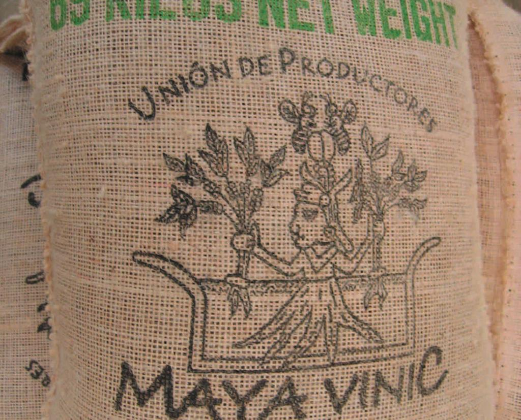 exports Maya Vinic exports four containers per year, the equivalent of 69 000 kilograms of organic coffee beans to clients in Canada, the United States and Switzerland at usd 126 per 100 pounds (eur