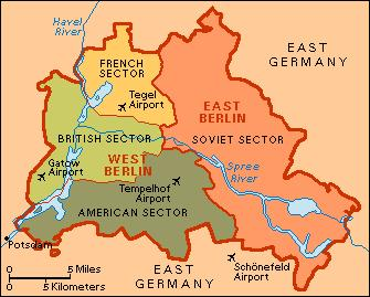How it Started: A Divided Germany When WWII ended Germany was divided among the allied powers.