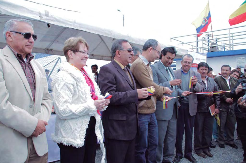 IM IM IM IM ECUADR NEWS MRE Inauguration of the Regional Potable Water System in García Moreno, in the Province of Carchi n January 20th, the United States Government, through its Embassy USAID, in