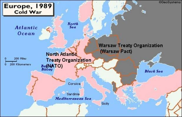 1949 - NATO Formed North Atlantic Treaty Organization Military alliance An attack on