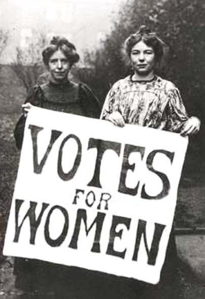 suffrage (voting rights) Women