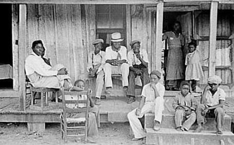 most as sharecroppers Literacy