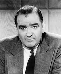 In this climate of paranoia, Senator Joseph McCarthy rose to prominence by making outlandish and