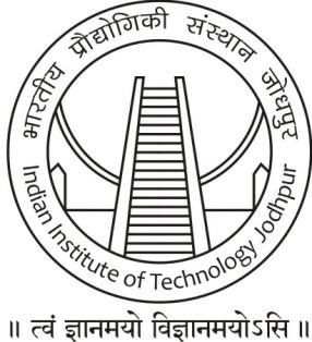 Tender for Supply & Installation of Laptops at Indian Institute of Technology Jodhpur NIT No.
