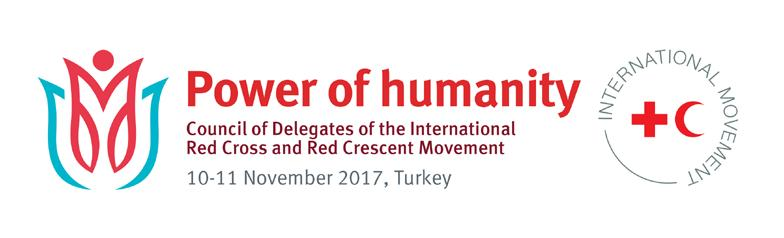 EN CD/17/8 Original: English For information COUNCIL OF DELEGATES OF THE INTERNATIONAL RED CROSS AND RED CRESCENT MOVEMENT Antalya, Turkey 10 11 November 2017 Working towards the elimination of