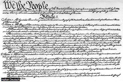 U.S. Constitution The Constitution of the United States has been the supreme law of the nation since 1788.