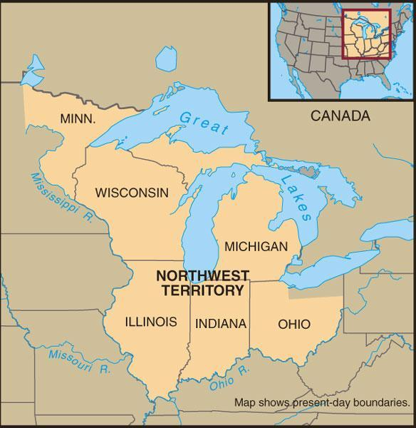 Northwest Ordinance: The Confederation s Major Achievement Provided for eventual statehood of new lands Created three to five new