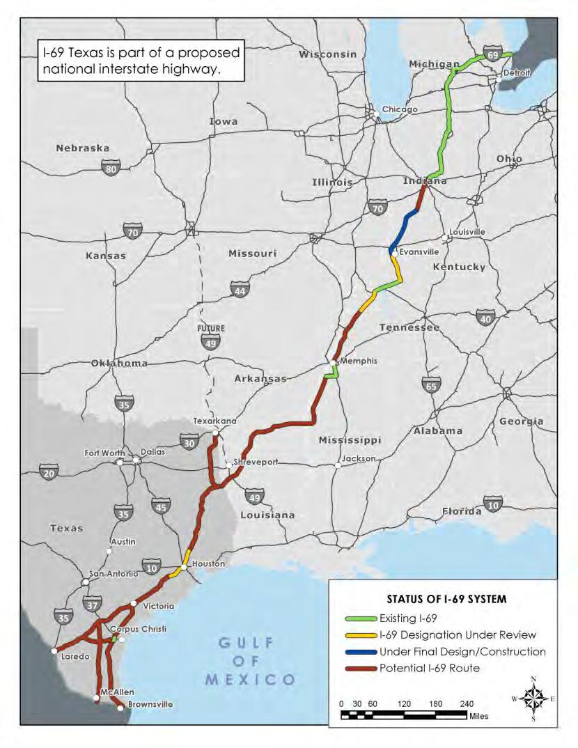 I 69 Tennessee Map.I 69 Segment Three Committee Report And Recommendations Pdf
