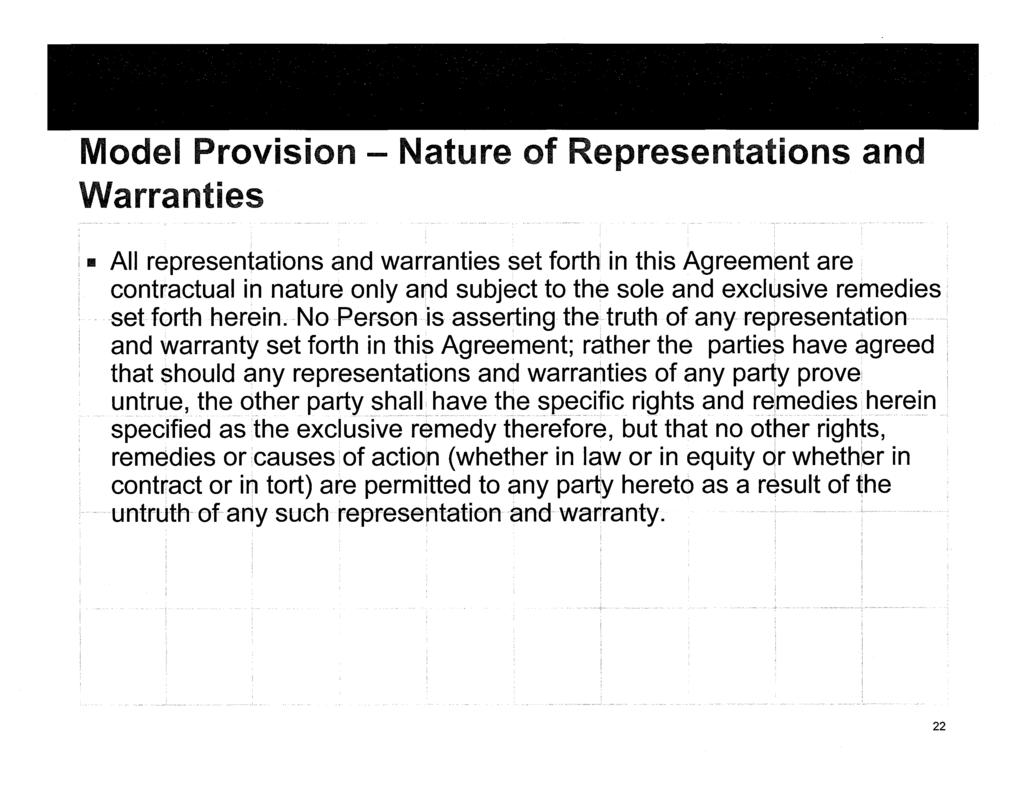 Contractual Limitations On Seller Liability In Ma Agreements Pdf