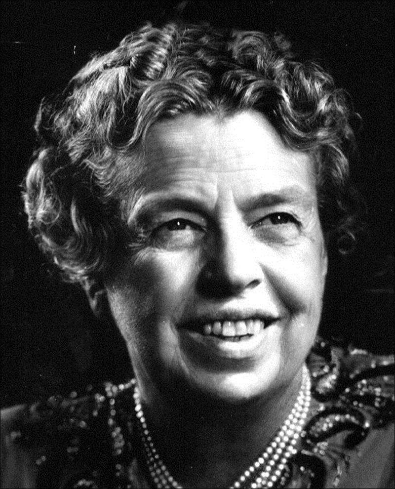 Eleanor Roosevelt Because Roosevelt found it so difficult to travel outside of Washington, D.