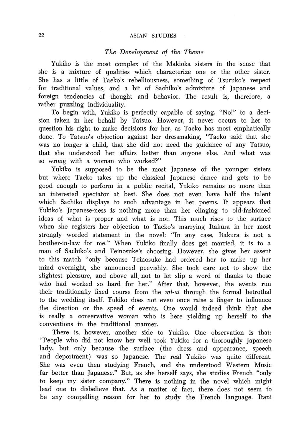 The asian center asian studies pdf 22 asian studies the development of the theme yukiko is the most complex of the makioka fandeluxe Image collections
