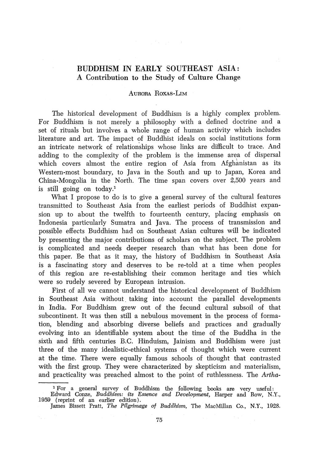 The asian center asian studies pdf buddhism in early southeast asia a contribution to the study of culture change aurora roxas fandeluxe Image collections