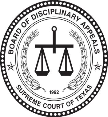Before The Board Of Disciplinary Appeals Appointed By The Supreme