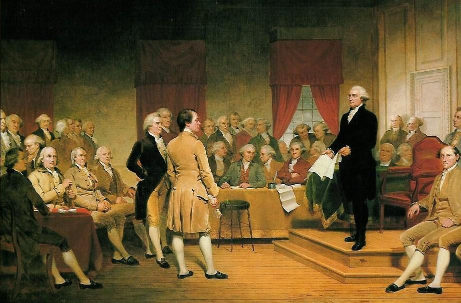 ü A al Convention Is Called - during the summer of 1787, 12 states sent delegates to Philadelphia to discuss amending the