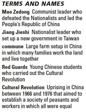 Communists Take Power in China COMMUNISTS VS. NATIONALISTS Who fought the civil war? Nationalists and Communists fought for control of China in the 1930s.