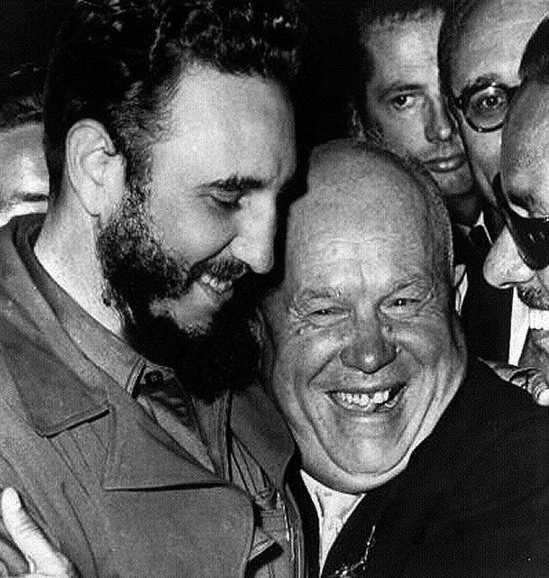 Cuban Missile Crisis In 1959 overthrew the oppressive Cuban government and made Cuba a communist dictatorship. Castro became allies with the Soviet Union, and friends with Khrushchev.