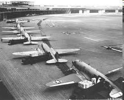 preventing supplies from reaching Berlin Airlift- US