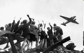 what does the Berlin Airlift say about the US attitude
