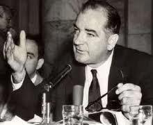 McCarthyism McCarthyism witch hunt for Communists Explain what a witch hunt means?