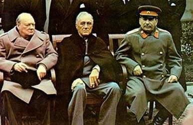 Yalta and Potsdam Conferences Big 3 (USA, Britain, and Soviet Union) meet to decide what will happen in Europe (Germany) after WWII Yalta (Feb.