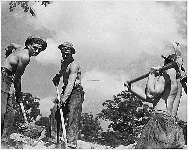 ALPHABET AGENCIES Civilian Conservation Corps (CCC): put young men to work Men ages 18-25 worked building
