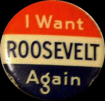 FDR EASILY WINS 2ND TERM The Republicans nominated Alfred