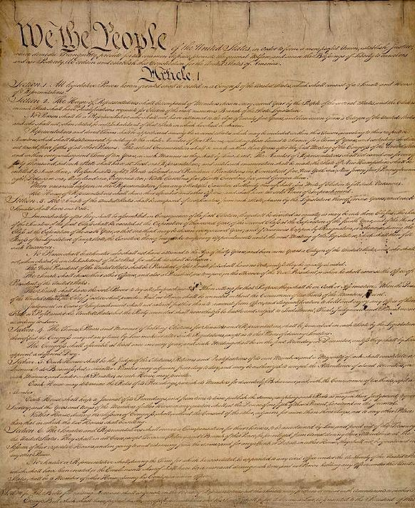 Structure of the Constitution Preamble: Statement of purpose Articles: I: Legislative Branch II: Executive Branch III: Judicial Branch IV: