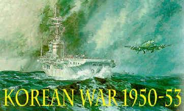 KOREAN WAR 1950-1953 After World War II Korea was divided, along the 38th parallel, into North Korea, occupied Soviet forces and South Korea occupied by American forces.