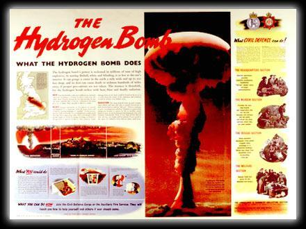 ARMS RACE The United States developed the Atomic Bomb during