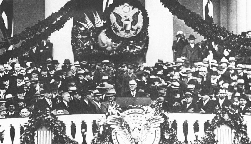 Fighting the Depression, Part II: Franklin Delano Roosevelt Democrat Franklin Delano Roosevelt won the presidential election in 1932 Roosevelt appealed to both wings of the Democratic party Winning