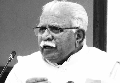 aryana Chief Minister HManohar Lal Khattar on Sunday said that he has written to his Punjab counterpart Capt Amarinder Singh, urging him to join hands to check the wasteful flow of Ravi waters to