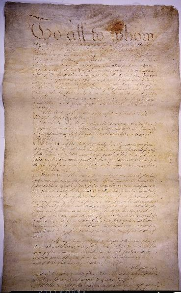 Declaration of Independence Annapolis Convention