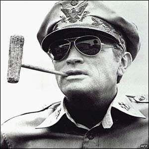 US general Douglas MacArthur wanted to continue the