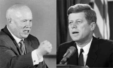 In secret negotiations, Kennedy agreed to remove US missiles