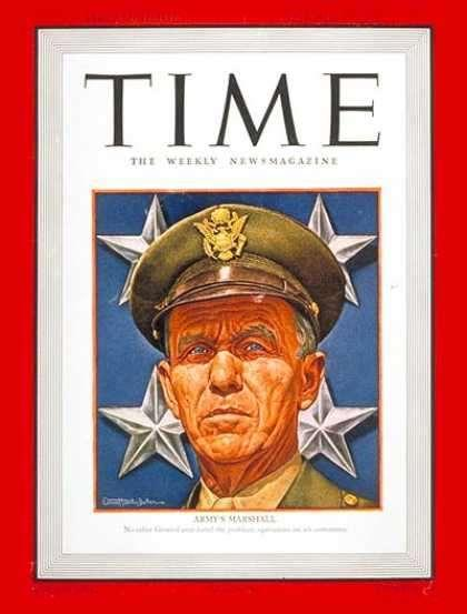 In 1947, US Secretary of State George Marshall announced The Marshall