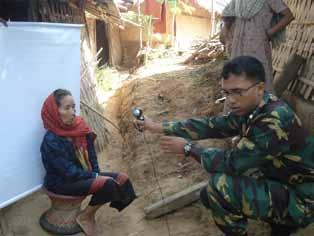 Elections in Bangladesh 2006-2009: 6 Special measures were taken by the Bangladesh Election Commission and the PERP project to reach and register ethnic minority groups in the Chittagong Hill Tracts.