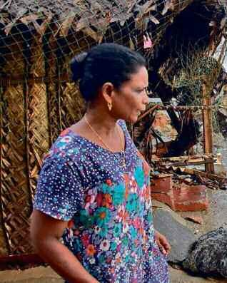 Environment Future Washing Ashore in Kerala The number of climate refugees is climbing in the southern state as rising seawater nibbles away at its coastline Sixty five-year-old Maria sits at the
