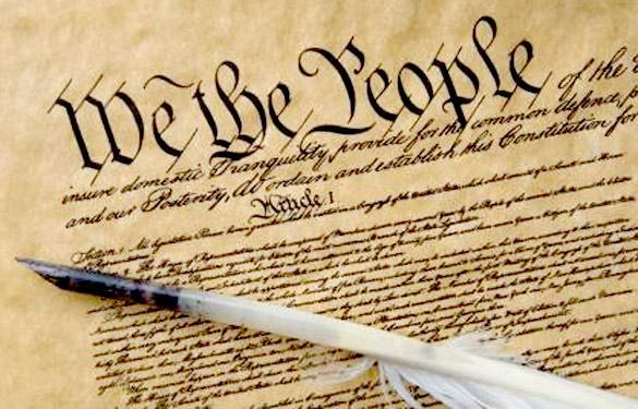Sections of the Constitution Preamble and Article I Preamble: first sentence First article: established the legislative branch and it s roles
