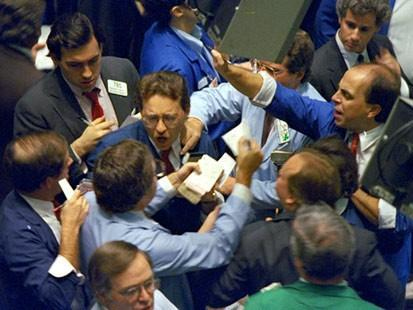 the stock exchange, but they