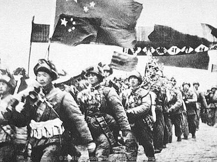 Korean Conflict Mae Zedong the leader of China sent troops in to