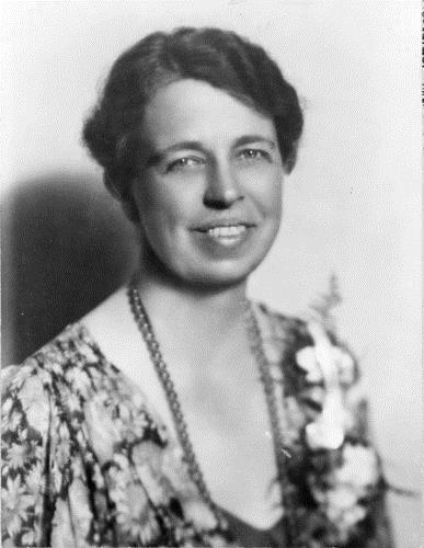 d. Identify Eleanor Roosevelt as a symbol of social progress and women s activism Eleanor Roosevelt spoke to many women and minority groups and relayed their plight to the President Though little
