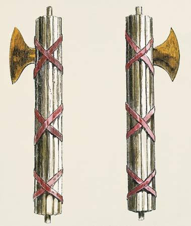 Fascism Comes from the Roman term fasces Symbol of authority which consisted of a bundle of wooden rods wrapped around an axe Fascists sought