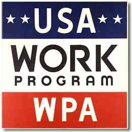 to create as many industrial jobs as possible as quickly as possible The WPA spent $11
