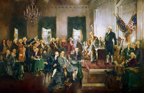 1787 - Philadelphia 55 Delegates from all the states invited to a