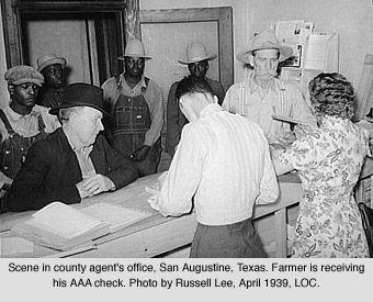 Agricultural Adjustment Act (AAA): (1933) designed to combat overproduction by controlling the