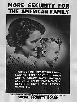 Social Security Administration: (August 1935) permanent agency designed to ensure that older Americans would always have enough money to survive. SS was/is still financed through a payroll tax.