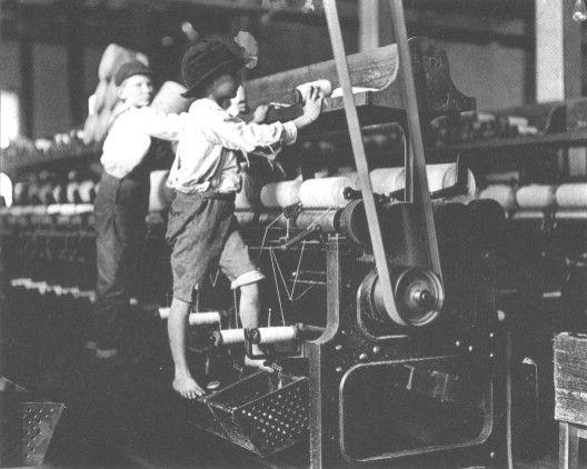 It also outlawed child labor & set the minimum age at 14 for working outside of