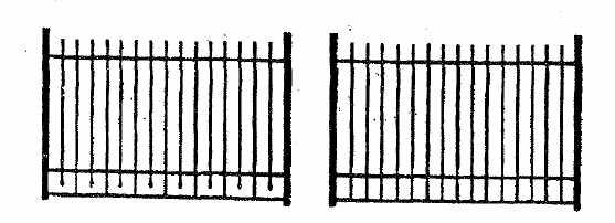 Exhibit D Design and Specification of Fences That May Be Installed by Owners All fencing must meet the following