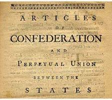 the ratification of the Constitutionwanted Articles of Confederation Wanted states to have